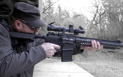 Shots Fired: Spike's Tactical Roadhouse AR-10: GBguns Video