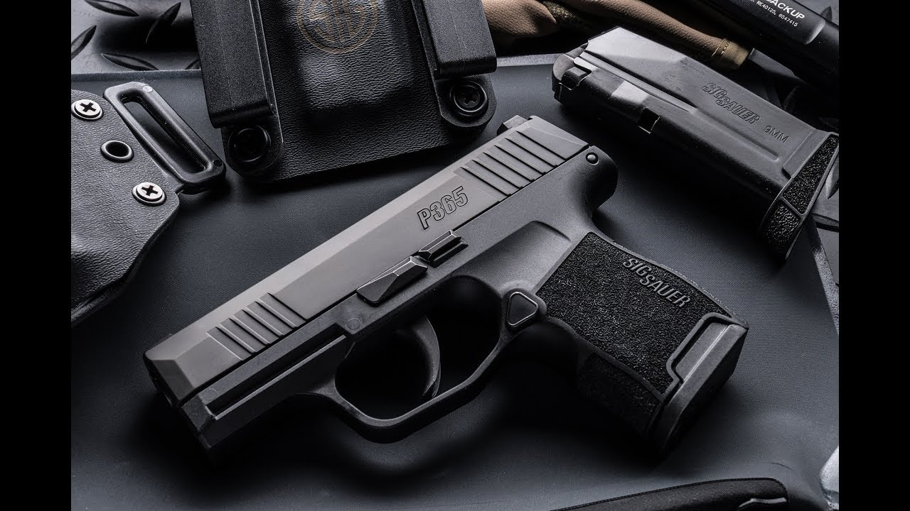 Sig Upgrades the new P365 to improve performance