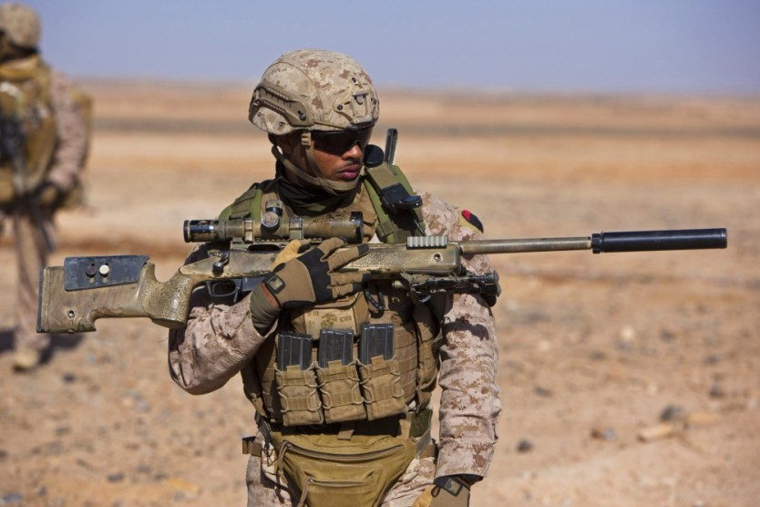 Loadout Room photo of the day: Cpl. Dennis Cox – Scout Sniper