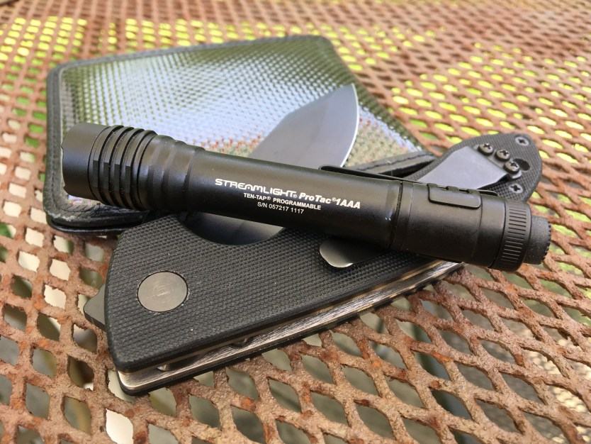 Streamlight ProTac 1AAA   Upgraded to 115 lumens!