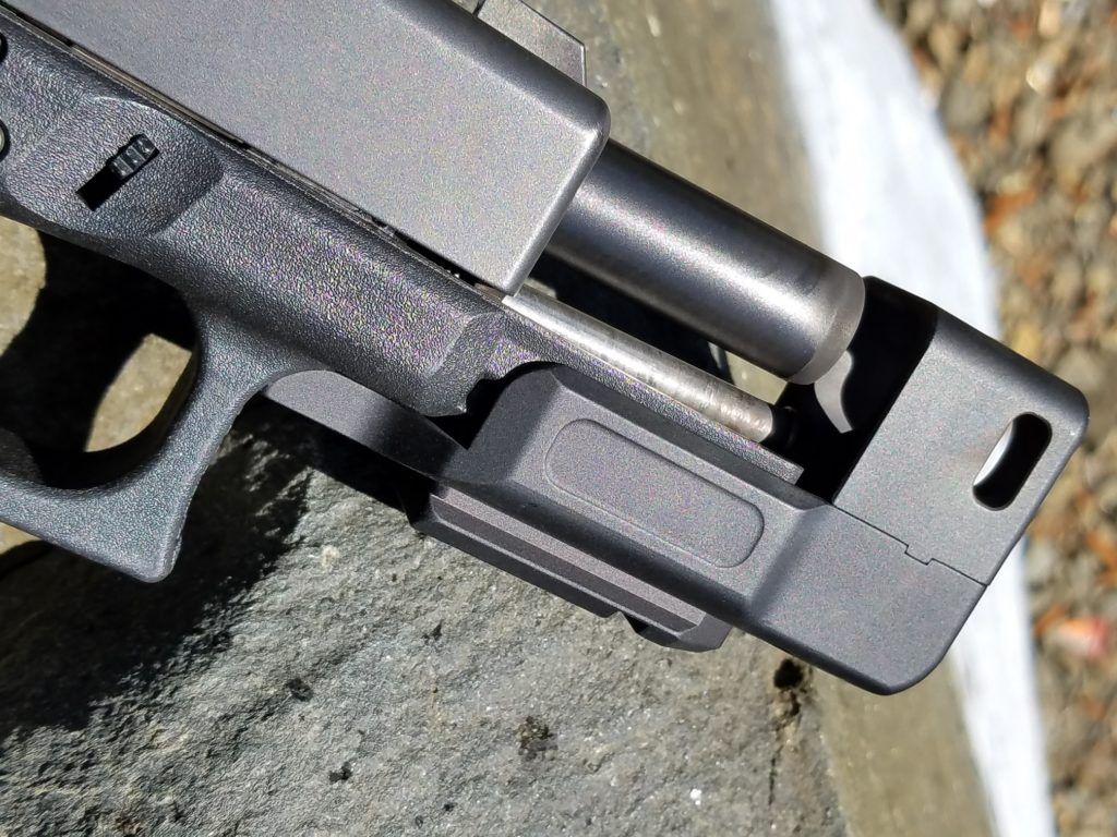 Dark Hour Defense   Glock compensated stand-off device