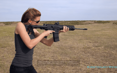 Double Barrel Gilboa Snake AR: Two barrels, Two triggers, Two Shots