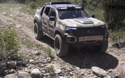 Watch: Is the Chevy Colorado ZH2 the new Humvee?
