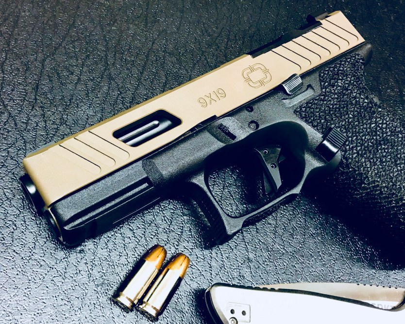 Shadow Systems Releases Combat Special Glock 19 Slide, in Partnership with OpticsPlanet