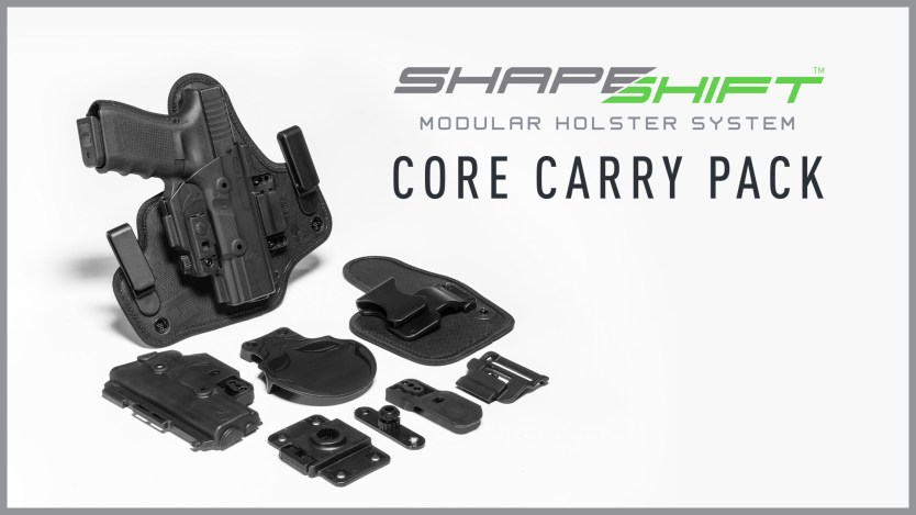 "Alien Gear Holsters renames ShapeShift ""Starter Kit"" to ""Core Carry Pack"""