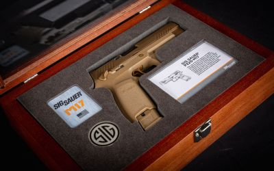 SIG SAUER September Sweepstakes for U.S. Army M17-Commemorative Pistol