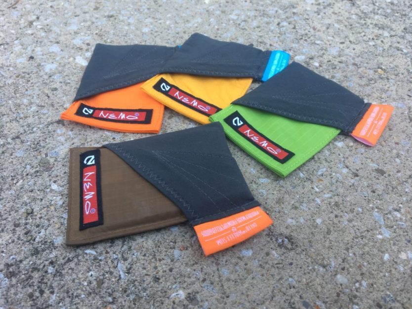 Nemo Equipment Ditto: Slim Upcycled Wallet ready for Adventure