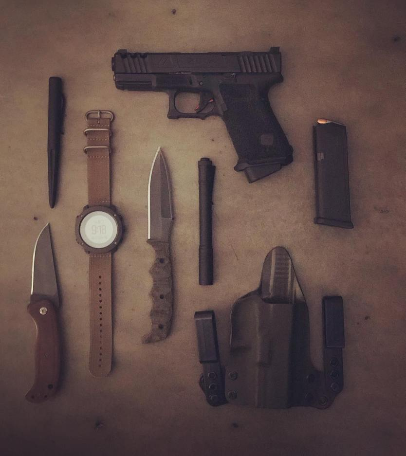 The real day to day carry of Jack Carr, Author of The Terminal List