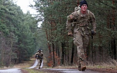 Rucking Practical Exercise, Dodge the Rain Drops
