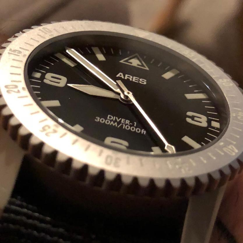 Graham Wa Weather >> ARES Watch Co. DIVER-1 Mission Timer Watch | The Loadout Room