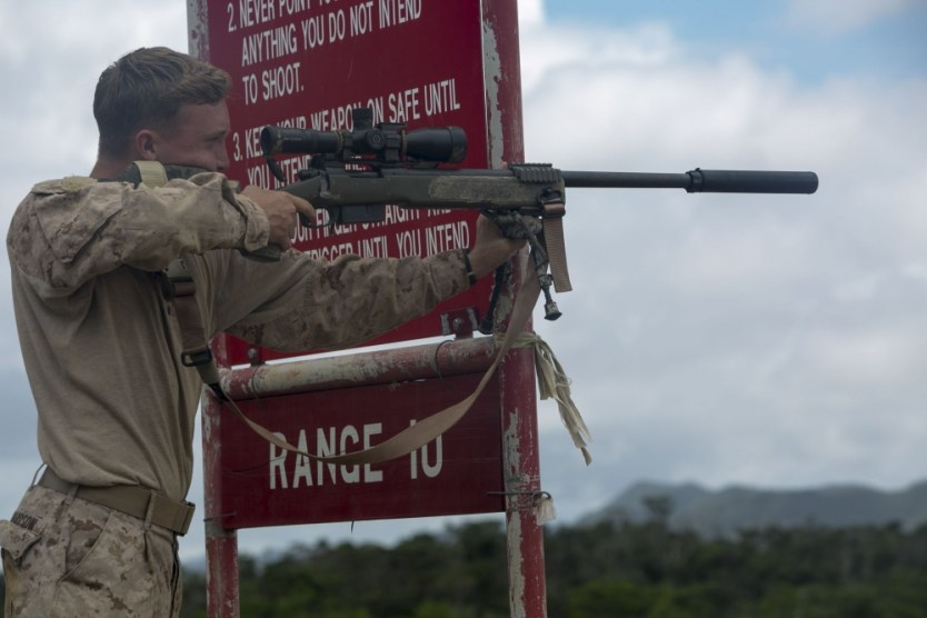 Photo of the day: Riflemen prepare for Scout Sniper Basic Course