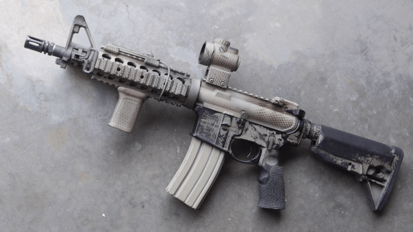 How to paint your AR-15/M4 Rifle