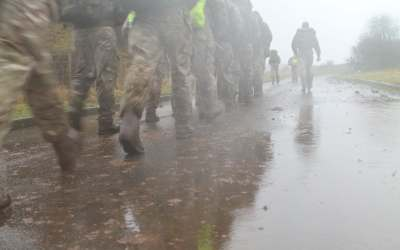 Rucking in Standing Water…Got to Be Smarter Than a Rock