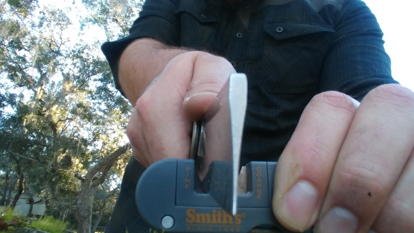 The Pocket Pal From Smith's: Work smarter when sharpening your knives