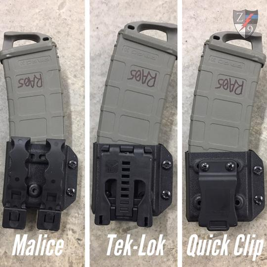 Duty Gear Evolved from Zero9 Holsters