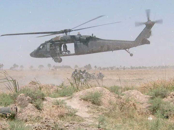 Photo of the day: Small unit insertion in the Diyala province of Iraq
