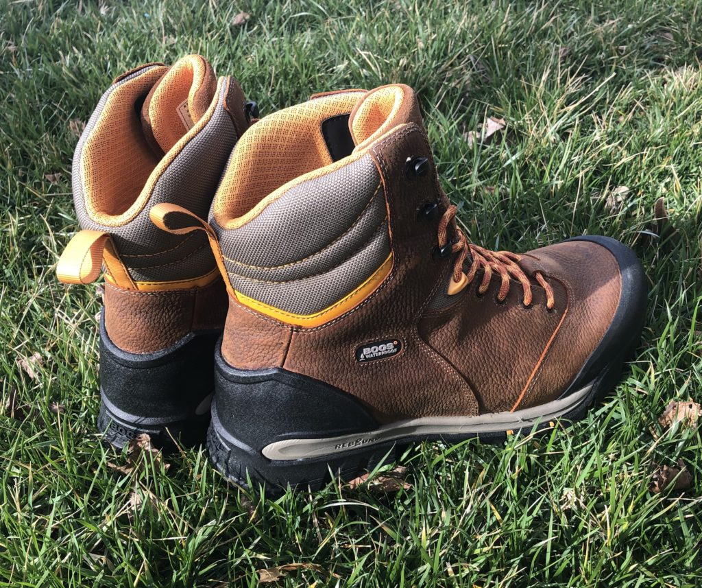 Bogs Bedrock waterproof leather work boots and Farm-to-Feet Coronado tactical socks