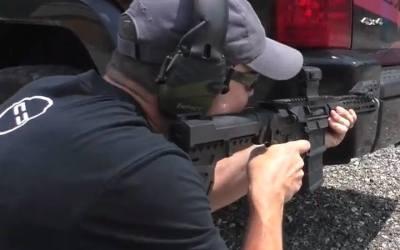 Is the AR-15 an effective weapon for civilians to use against domestic terrorism?