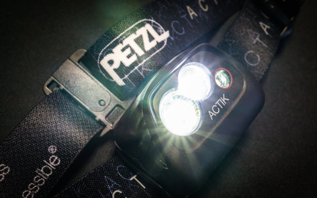 Petzl ACTIK Headlamp: Capable of all of your adventuring needs