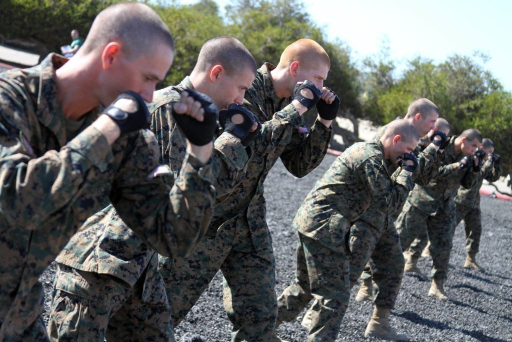 How to throw a punch like a Marine