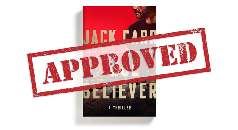 """True Believer """"Cleared as Amended"""" by Department of Defense"""