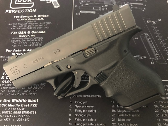 Why I chose the Glock 43 as my concealed carry pistol