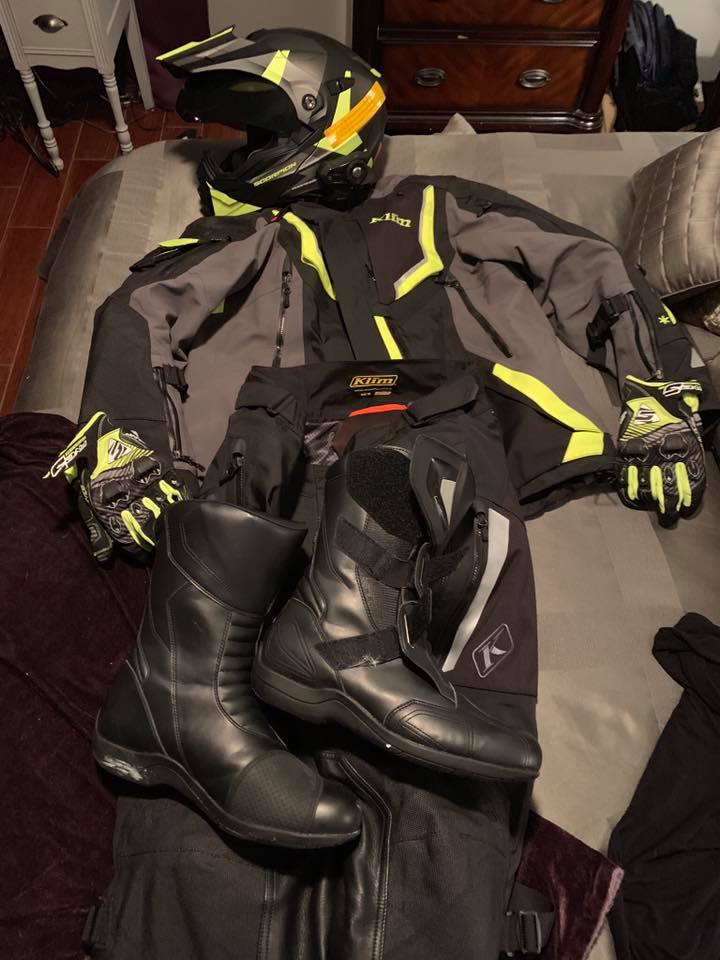 My motorcycle commuting gear of choice