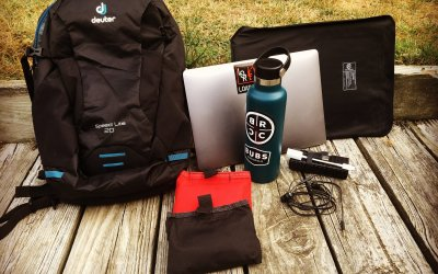 Deuter Speedlite 20: The adventure go-bag turned mobile office