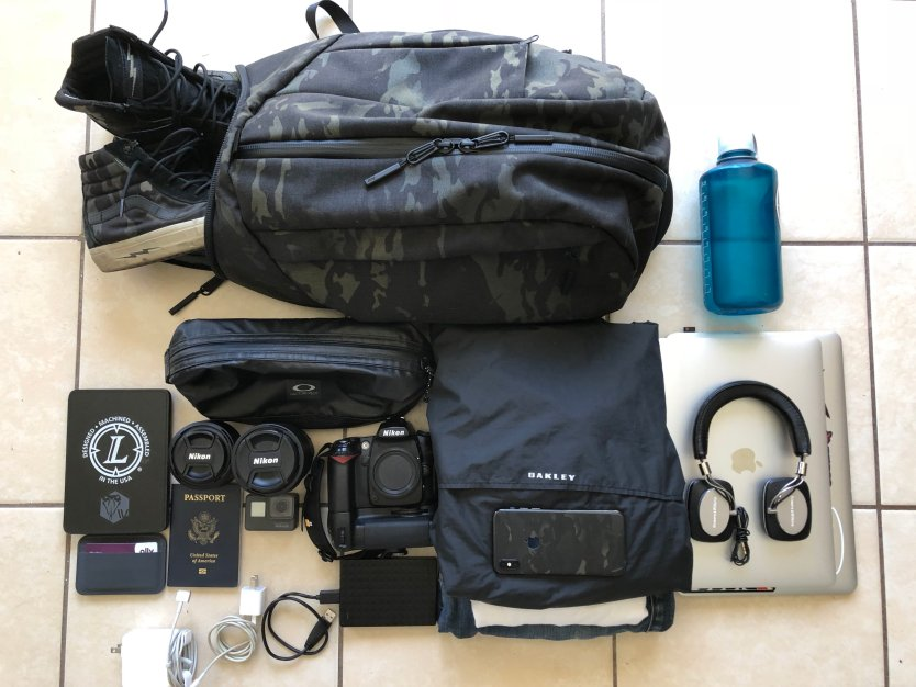 Photo of the day: Packing like a digital nomad