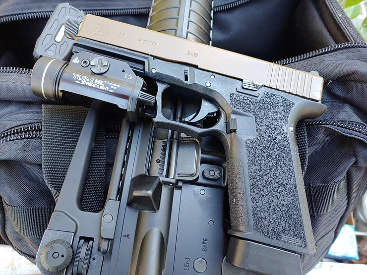 The Polymer80 PF940V2 Ghost Gun kit | The Loadout Room