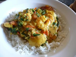 The best prawn curry