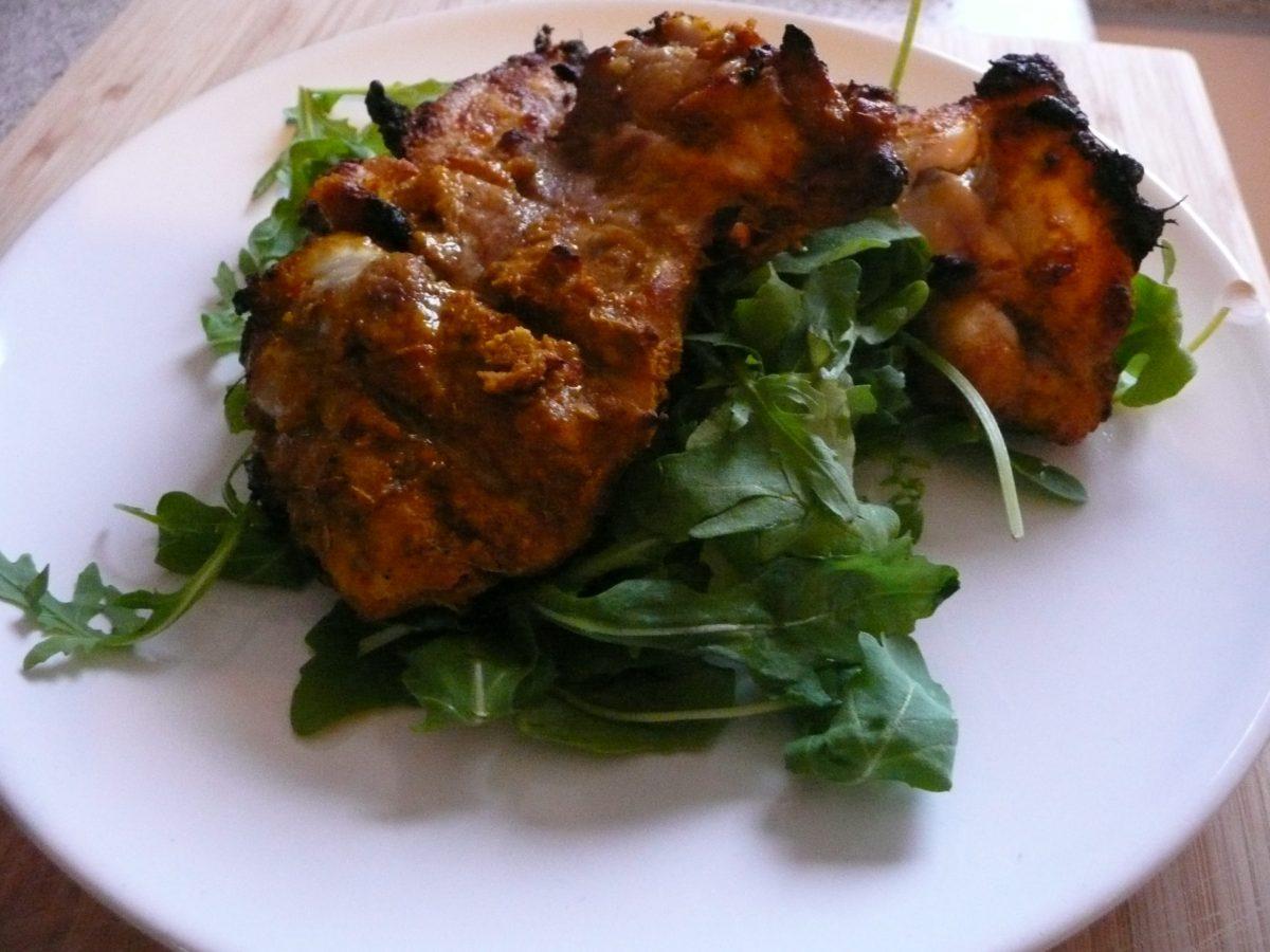 quick chicken tikka