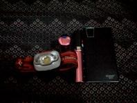 Headlamp, flashlight, power bank with flashlight