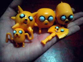 Adventure Time Jake toy