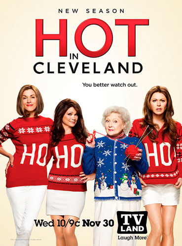 Hot in Cleveland Season Six poster