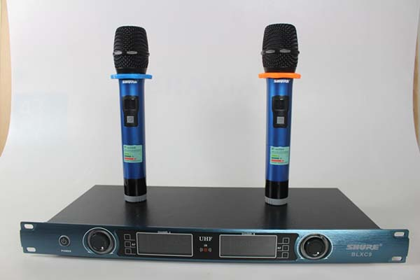 song uhf micro shure blxc9