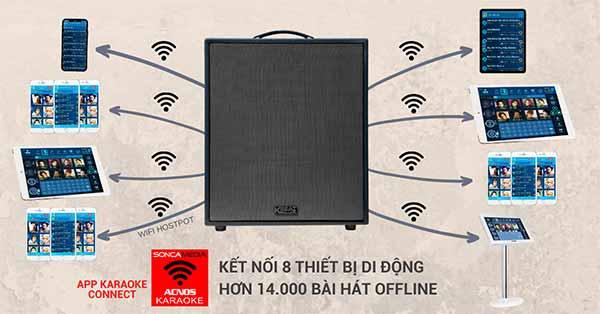 loa karaoke ksnet cs550