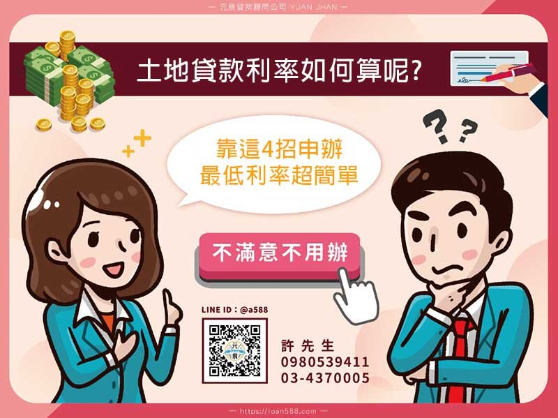 土地貸款利率如何算呢?