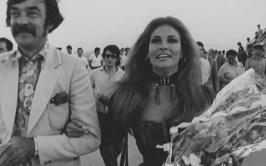 Raquel Welch and Richard Johnson