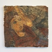Panagia: 12th century recovered and restored fresco that had been looted from the Monasteryof Aspinthiotissa in Kyrenia, occupied Cyprus
