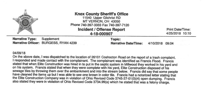 Knox County Sheriff's Report (1)