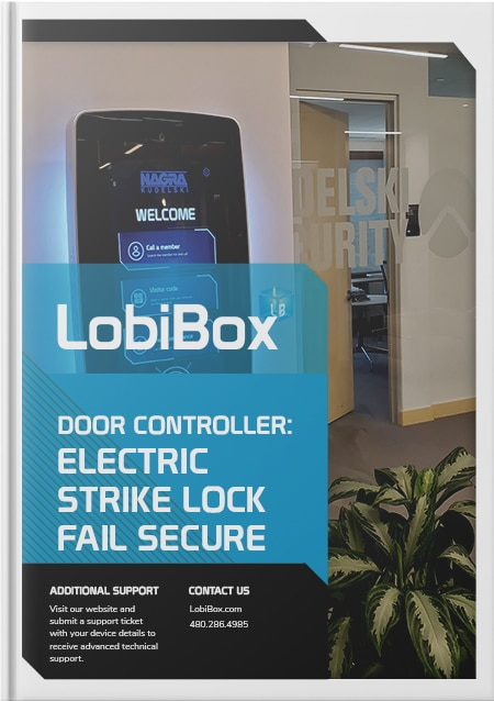 Electric Strike Lock Fail Secure Cover
