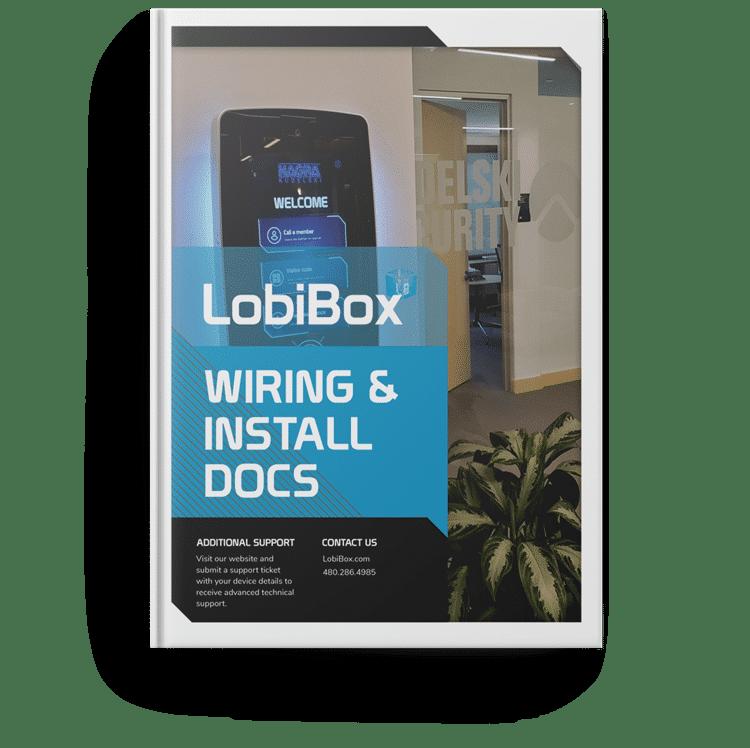 LobiBox Wiring & Install Handbook Cover