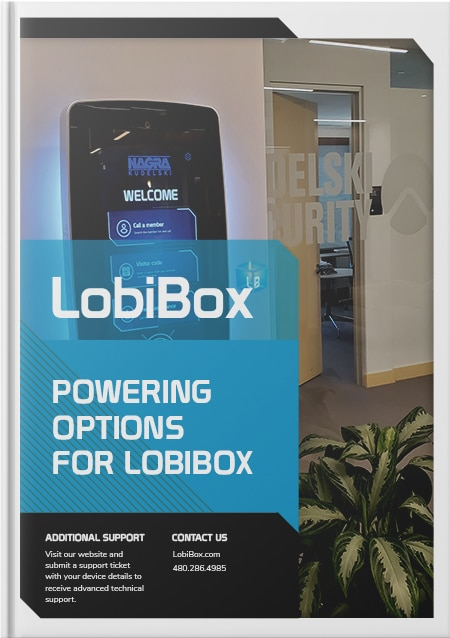 Powering Options for LobiBox Cover