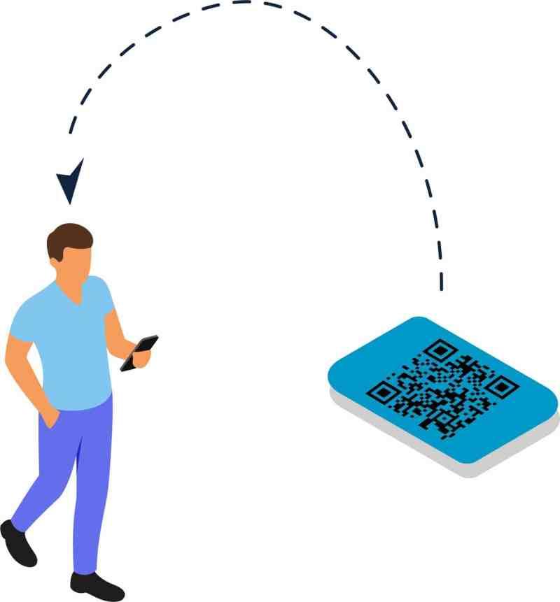 visitor scheduling QR code