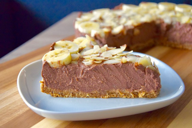 vegan chocolade cheesecake