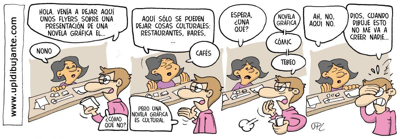 Ulises P. López Viñeta LOBLANC #1