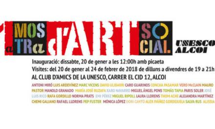 Club de Amigos de la Unesco de Alcoy celebra 50 aniversario con muestra sobre Derechos Humanos e Infantiles