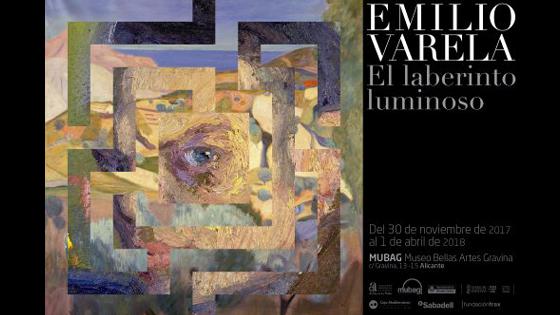 El Laberinto Luminoso de Emilio Varela en el MUBAG hasta el 1 de abril