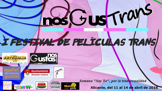 «NosgusTrans» Festival de Películas Trans de Alicante proyecta cortos de Sección Panorama en el MACA